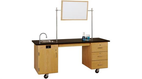 Science & Lab Tables Diversified Woodcrafts ADA Mobile Lab Unit