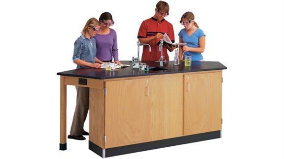Science & Lab Tables Diversified Woodcrafts Student Workstation