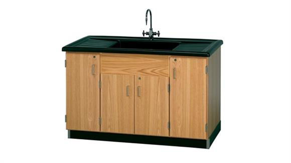 Science & Lab Tables Diversified Woodcrafts Clean Up Sink