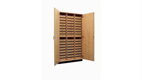 Storage Cabinets Diversified Woodcrafts Tote Tray Storage Cabinet