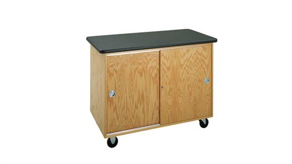 Storage Cabinets Diversified Woodcrafts Mobile Storage Cabinet