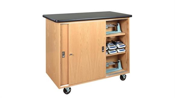 Storage Cabinets Diversified Woodcrafts Mobile Balance Storage Cabinet