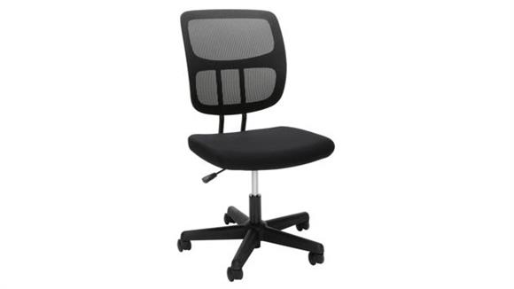 Office Chairs Essentials Armless Mesh Office Chair
