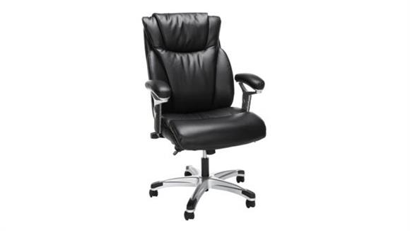 Office Chairs OFM Essentials Ergonomic Executive Bonded Leather Office Chair