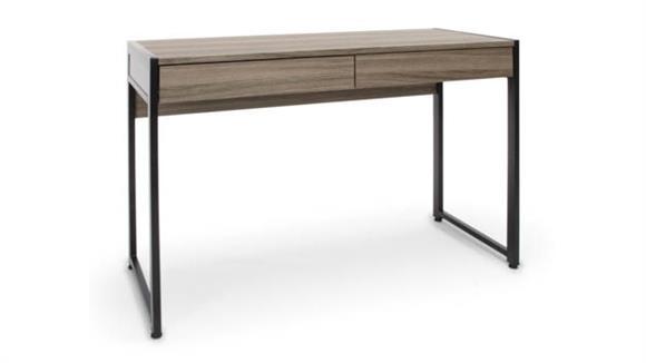 Computer Desks Essentials 2-Drawer Office Desk