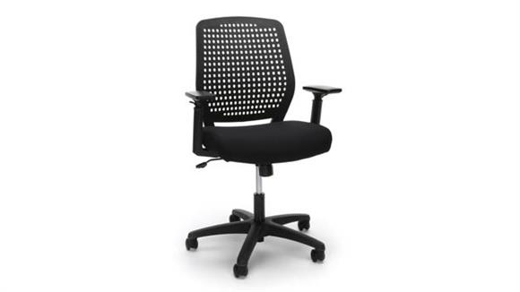 Office Chairs OFM Essentials Plastic Back Ergonomic Task Chair