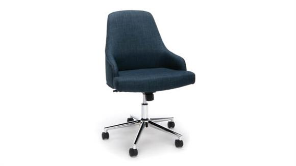 Office Chairs Essentials Upholstered Home Desk Chair
