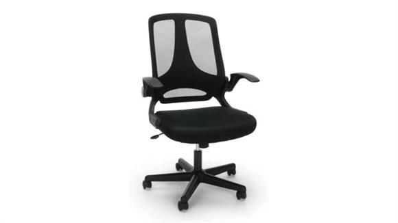 Office Chairs Essentials Flip Arm Mesh Chair