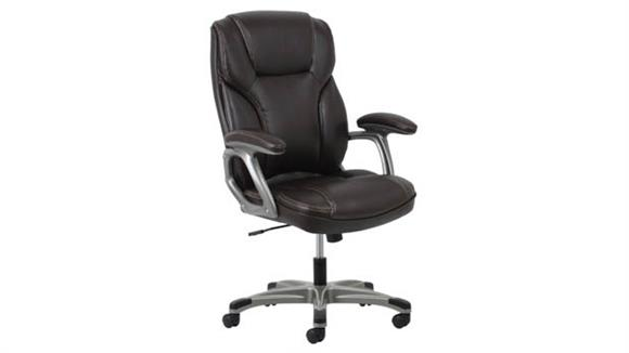 Office Chairs OFM Essentials High Back Leather Chair