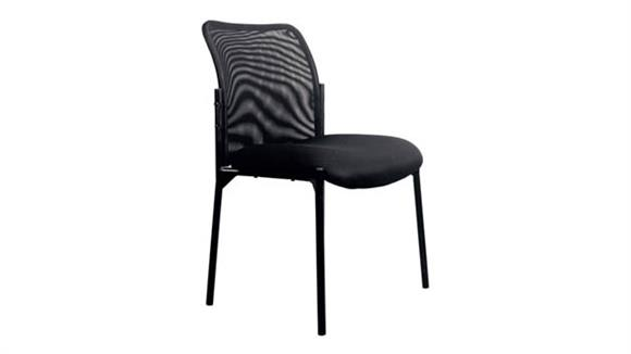Side & Guest Chairs OFM Essentials Mesh Back Side Chair