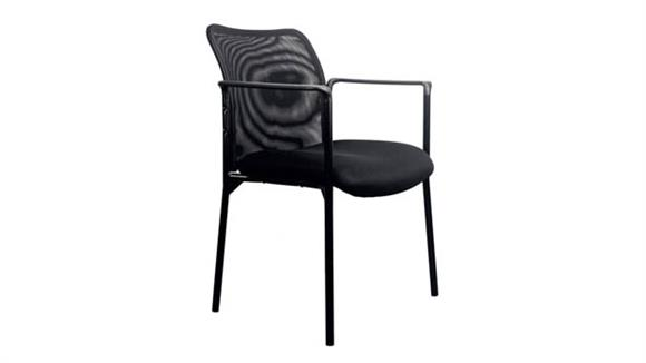Side & Guest Chairs OFM Essentials Mesh Back Side Chair with Arms