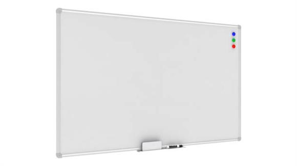 "White Boards & Marker Boards OFM Essentials 47"" X 31"" Magnet White Board with Tray"