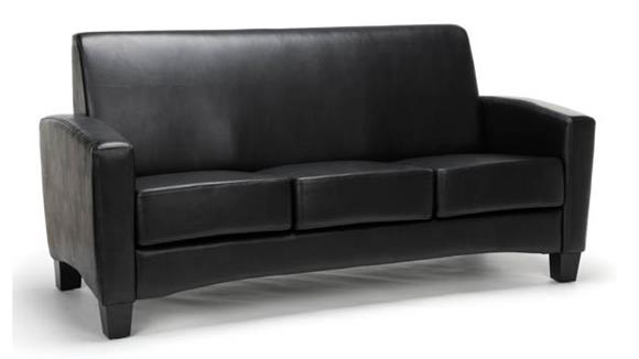 Sofas Essentials Traditional Leather Sofa