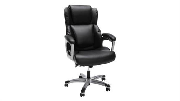 Office Chairs Essentials Ergonomic Executive Bonded Leather Office Chair