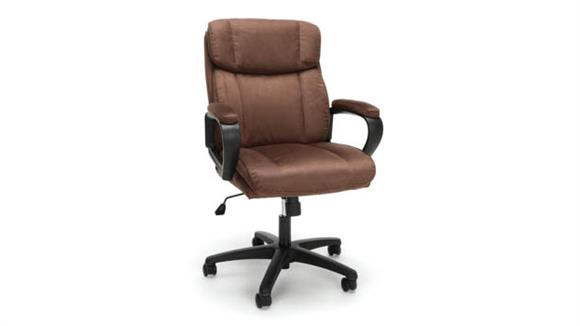 Office Chairs Essentials Plush Microfiber Office Chair