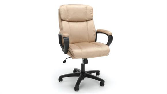 Office Chairs OFM Essentials Plush Microfiber Office Chair