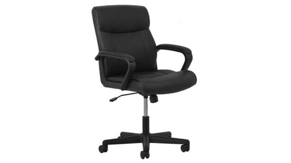 Office Chairs OFM Essentials Leather Chair