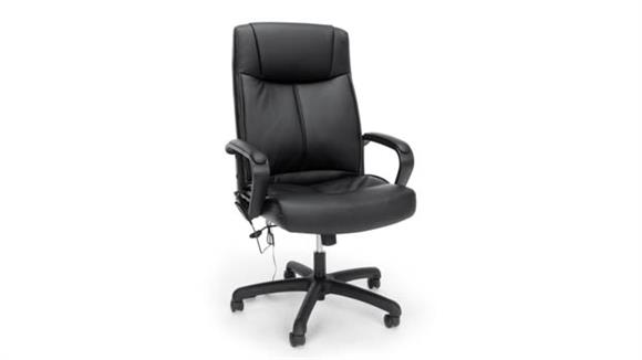 Office Chairs OFM Essentials Leather Massage Chair