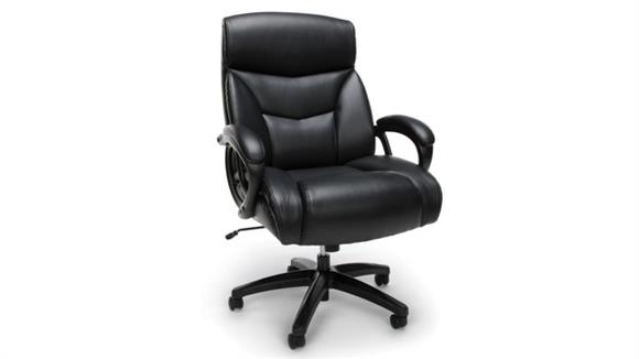 Big & Tall OFM Essentials Big & Tall Executive Leather Chair