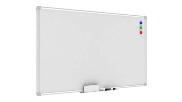 "White Boards & Marker Boards OFM Essentials 36"" X 24"" Magnet White Board with Tray"