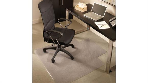 "Chair Mats ES Robbins 45"" x 53"" Chair Mat for Medium Pile Carpet"