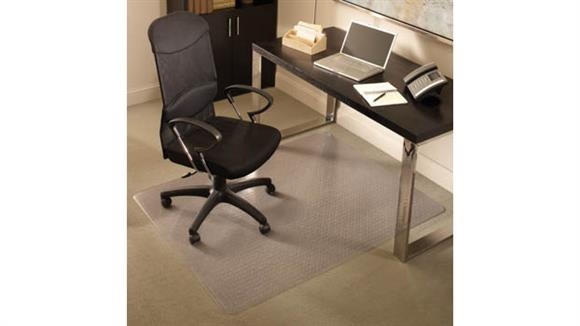 "Chair Mats ES Robbins 46"" x 60"" Chair Mat for Medium Pile Carpet"