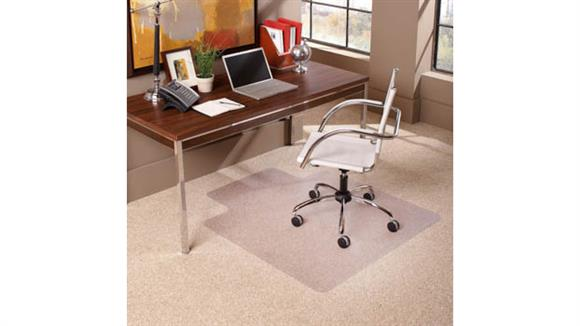 "Chair Mats ES Robbins 36"" x 48"" Chair Mat for Low Pile Carpet"