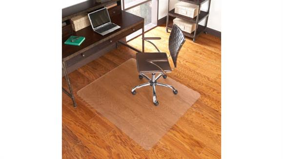 "Chair Mats ES Robbins 46"" x 60"" Chair Mat for Hard Floors"