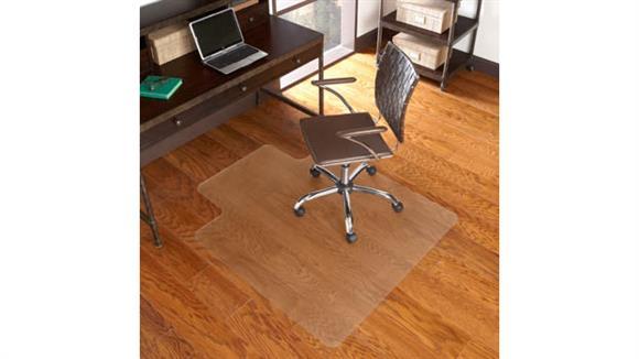 """Chair Mats ES Robbins 45"""" x 53"""" Chair Mat for Hard Floors"""