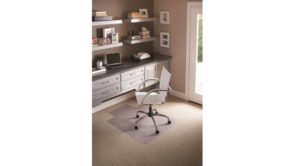 "Chair Mats ES Robbins 36"" x 48"" Chair Mat For Flat to Low Pile Carpet"