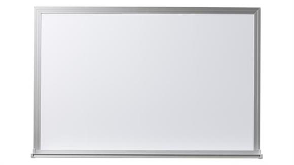 White Boards & Marker Boards EverWhite 4 x 4 Aluminum Framed Magnetic Markerboard