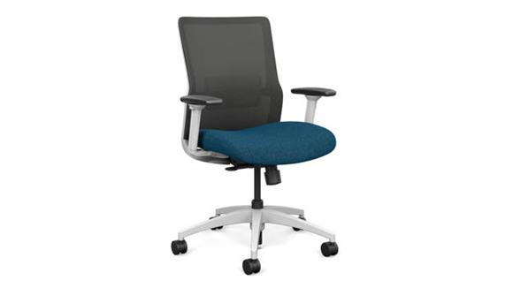 Office Chairs Sit On It Mid Back Task Chair with White Base