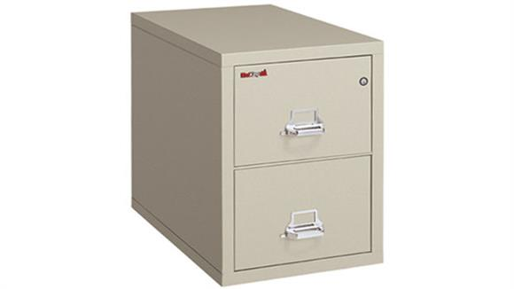 File Cabinets Vertical FireKing 2 Drawer Letter Fireproof File