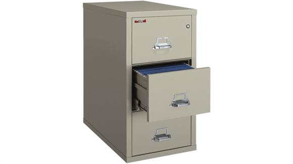 File Cabinets Vertical FireKing 3 Drawer Legal Size Fireproof File