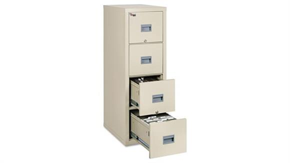 File Cabinets Vertical FireKing 4 Drawer Letter and Legal Size Fireproof File