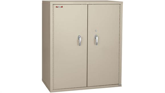 "Storage Cabinets FireKing 44"" High Fireproof Storage Cabinet with 3 Fixed Shelves"