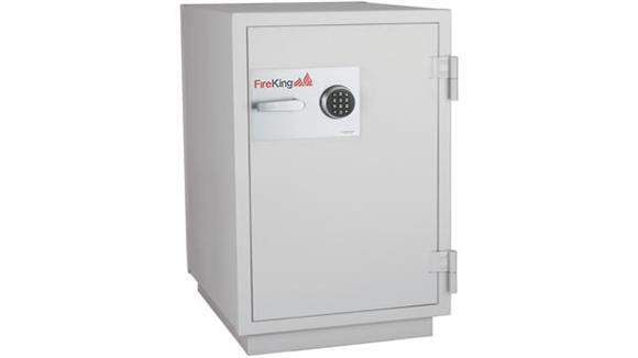 """Safes FireKing 40"""" High Extra Wide 3 Hour Fireproof Data Safe"""