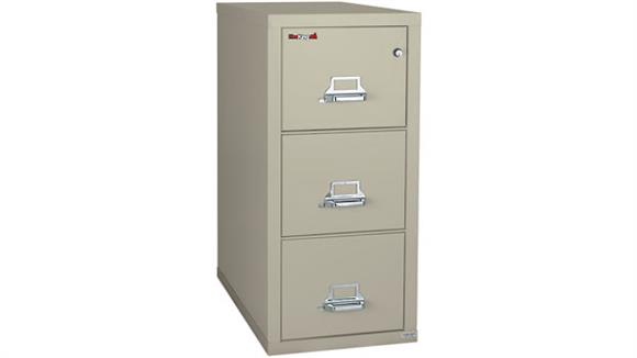 File Cabinets Vertical FireKing 3 Drawer Letter Size Fireproof File
