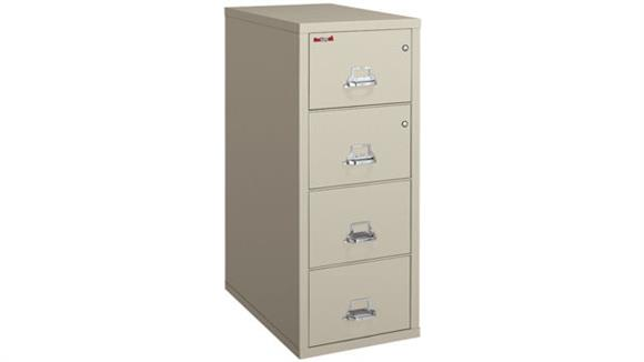 File Cabinets Vertical FireKing 4 Drawer Legal Safe in a File