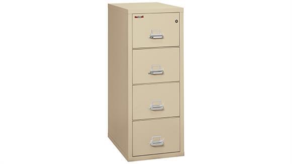 File Cabinets Vertical FireKing 4 Drawer Legal Fireproof File