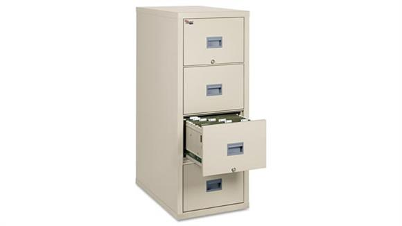 File Cabinets Vertical FireKing 4 Drawer Letter Size Fireproof File