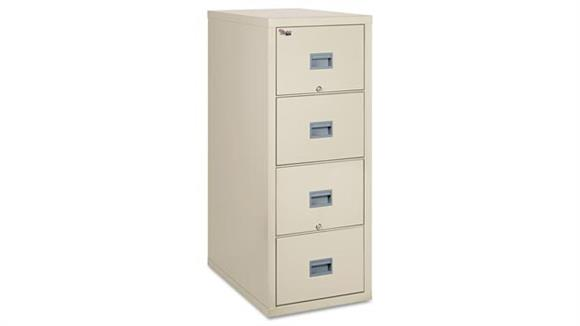 File Cabinets Vertical FireKing 4 Drawer Legal Size Fireproof File