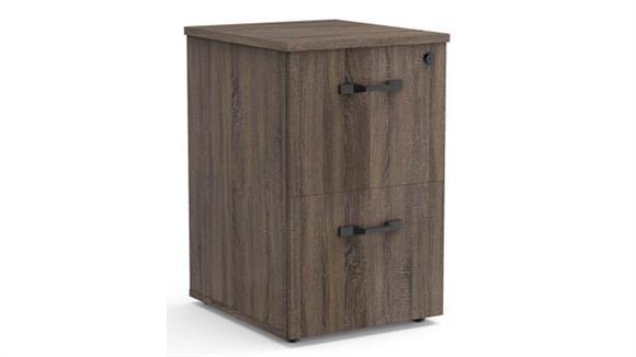File Cabinets Vertical Forward Furniture File/File Vertical Pedestal - Assembled