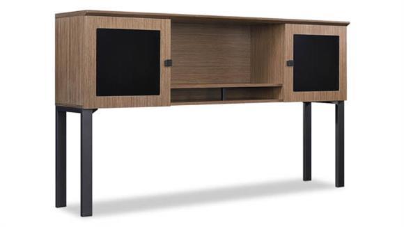 "Hutches Forward Furniture 66""W Desk Mount Hutch"