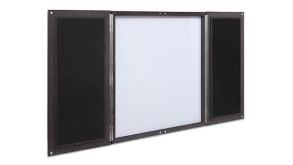 White Boards & Marker Boards Forward Furniture Presentation Board Wall Cabinet