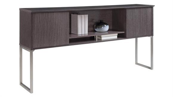 "Hutches Forward Furniture 72""W Desk Mount Hutch"