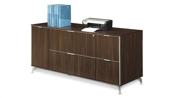 "Storage Cabinets Forward Furniture 65""W Low Wall Filing Credenza"