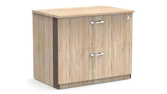 """File Cabinets Lateral Forward Furniture 36""""W 2-Drawer Lateral File - Assembled"""