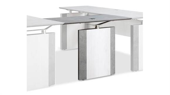 "Desk Parts & Accessories Forward Furniture 42""W x 20""D Reversible Bridge"