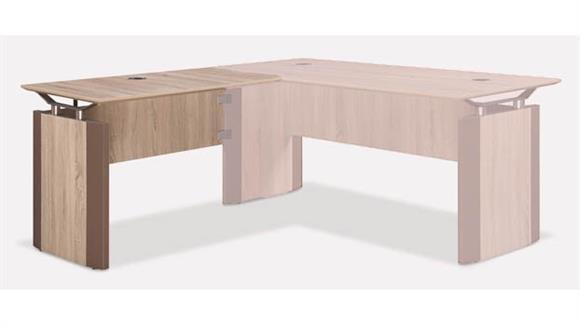 "Desk Parts & Accessories Forward Furniture 42""W x 24""D Reversible Desk Return"